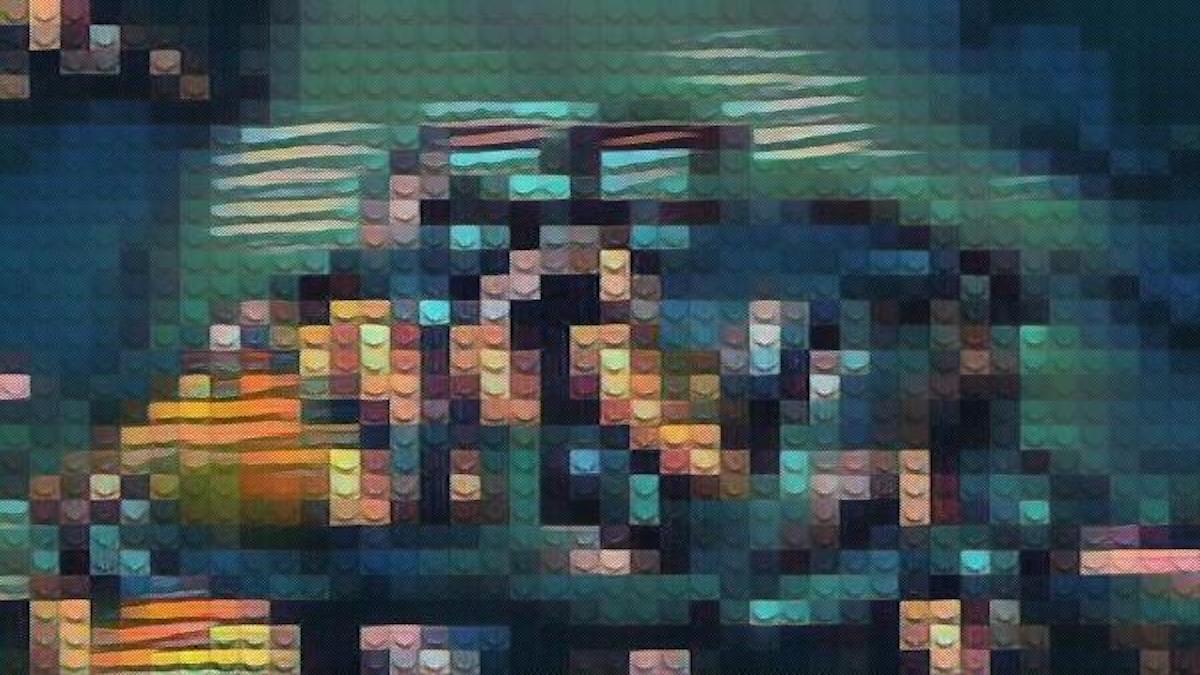 An abstract digital image by Tucker Lieberman.