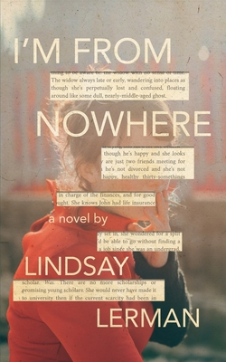 Book cover for Lindsay Lerman's I'M FROM NOWHERE